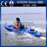 hison latest generation Electrical inflatable kayak roto mold for sale