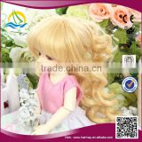 China factory synthetic no mix colour doll hair