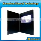 New arrival!2014 popular 7 inch LCD tft video greeting brochure card for business promote