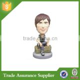 China wholesale Custom Sitting On A Rock Bobble Head for Sale