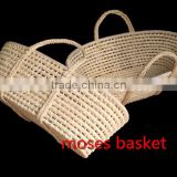 Hot sell baby maize undressed moses basket baby sleeping baskets