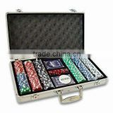 ABS Poker chip set and case,luxury poker chip case,aluminum cheap poker chip display case