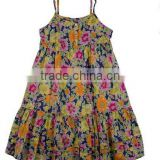 Fashion 2015 Summer Casual Printed Braces Skirt Party Dress Girls' Dresses Summer Girls Dresses Children's Clothing Kid Dresses