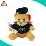 2016 best made stuffed soft plush graduation bear custom graduation teddy bear