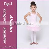 Children dance Tulle Dress Suspender Girl Ballet Dress Fitness Clothing Performance Wear Leotard Costume