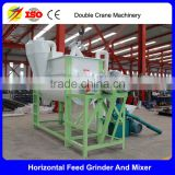 Hot sale small scale poultry feed mill equipment, hammer mill, grinder and mixer machine
