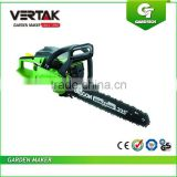 Low MOQ 45cc gasoline chainsaw 4500/petrol chain saw, stock petrol chainsaws,gasoline chain saw