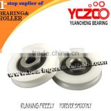 Top quality nylon caster wheels for sliding door/sliding door roller