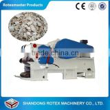 Forest drum wood chipper with CE certification / high efficiency tree branch sawdust timber crusher