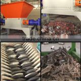 CE CERTIFICATE double shaft shredder