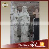 Hand made White Marble Jesus Statue