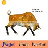 New design Large charging bull of wall street plaza decor NTBA-B017Y