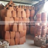 Stock terracotta pots, Stock Mekong Delta Terracotta Pots, Stock Vinh Long Terracotta products