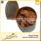 New Processing Halal Chinese Canned Mackerel Fish in Tomato Sauce
