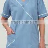 Classic Ladies blue Medical Scrub