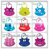 factory silicone bibs for baby no velcro bibs