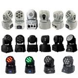 Mini Disco DJ Lights 7PCS X 12W RGBW Wash 4 In1 Moving Head Light Stage for Sale