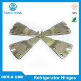 Upper hinge for refrigerator doors