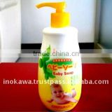 Japan baby product baby shower favors Bath Soap 350ml wholesale