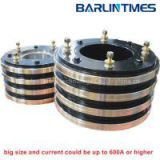 Carbon brush slip ring with big size and current for packing equipment from Barlin Times