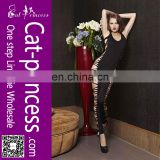 Newest design wholesale black bodystocking