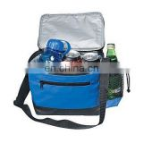 long shoulder belt aluminum cooler bag thermal bag for six cans