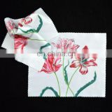 hot transfer printing microfibre glasses cleaning cloth