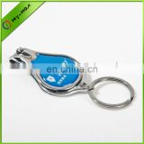 Advertising metal nail scissors with company logo