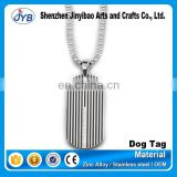 Hot sale custom dog tags made in china with necklaces