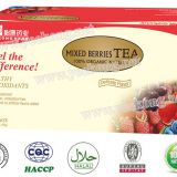 Herbal tea Mixed berries Tea instant tea