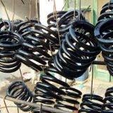 hot winding a large coil spring