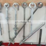bolts,bolt,hot dip galvanized three bolt sussuspension clamp,d ring,plastic fitting for track,wire buckle