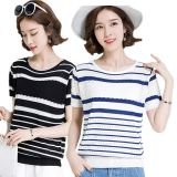 Stock Miscellaneous Women's Knitted Short Sleeve 3 Yuan Wholesale