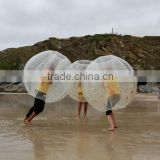 Factory price funny roll inflatable ball inflatable belly bumper ball bubble suit ball