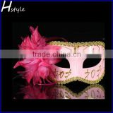 Colorful Flower venetian masquerade half face mask,halloween dress ball eye mask,sex party mask SC072