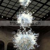 Church Glass Chandeliers