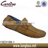 2014 genuine leather men moccasin shoes