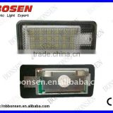 auto led license plate light for all AUDI TDI carswith with error canceller and CE certifcate