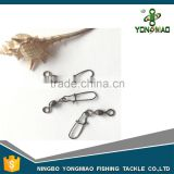 Chinese fishing tackle stainless steel fishing snap swivel
