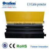 Factory direct price Outdoor Material of cover Pvc 3 Channels Cable Protector Ramp