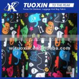 Lovely cartoon printing dull finished pongee polyester lining fabric/polyester lining fabric