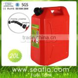 Motorcycle Fuel Tank Jerrycan 20L 5.3 Gallon Plastic Motorcycle Fuel Tank For Boat Yatch Truck                                                                         Quality Choice