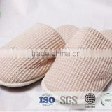 velvet comfortable can be with customized logo hotel disposable slipper /washable flip flop