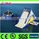 inflatable floating water slide / adult size inflatable water slide / commercial water slide