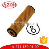 High efficiency auto parts lube oil filter lube filter oil A 271 180 01 09,A2711800109,0 986 AF1 505 for generator
