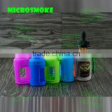 silicone case/sleeve/cover for e liquid 30ML bottle e cigarette liquid bottles e-liquid vending machine plastic e-liquid bottle