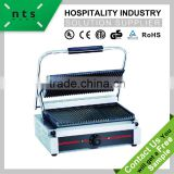 top and down grooved plate enamel coating electric contact grill