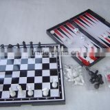 Magnetic Game Set chess and backgammon 8525