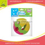 Rattle toys for baby plastic ring