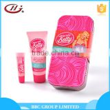 BBC Along Came Betty Gift Sets OEM 012 Personal care girl natural moisturizing lip gloss and hand lotion